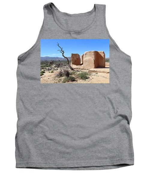 Tank Top featuring the photograph Remain Standing Of Ryan Ranch  by Viktor Savchenko