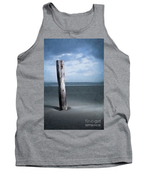 Remnant Of The Past On Outer Banks Ap Tank Top by Dan Carmichael