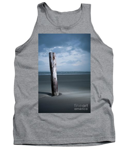 Remnant Of The Past On Outer Banks Tank Top by Dan Carmichael