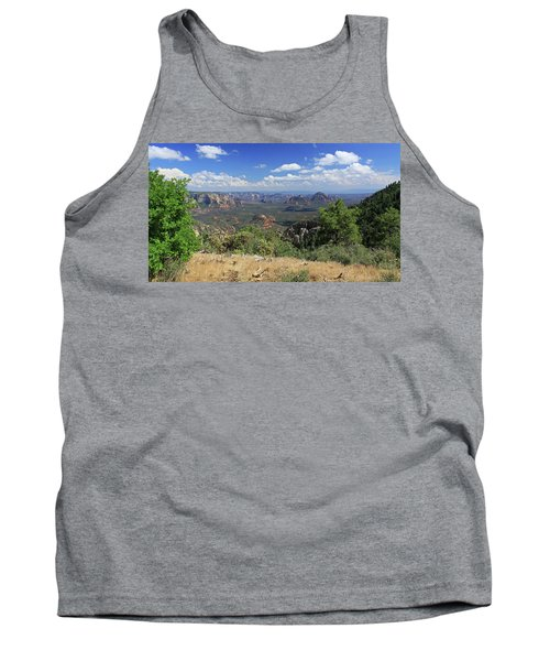 Tank Top featuring the photograph Remote Vista by Gary Kaylor