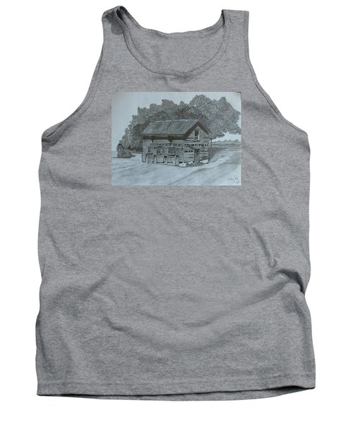 Rest In Pieces  Tank Top by Tony Clark