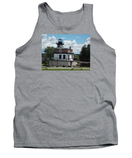 Restored Lighthouse Tank Top by Catherine Gagne