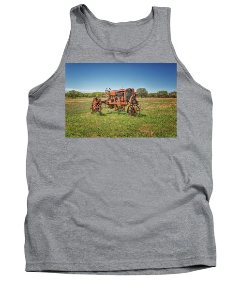 Retired Tractor Tank Top