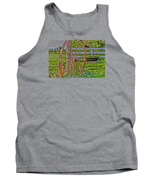Retired Tank Top by William Norton