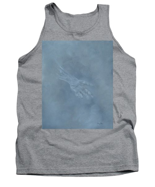 Tank Top featuring the painting Return To Dust by Judith Rhue