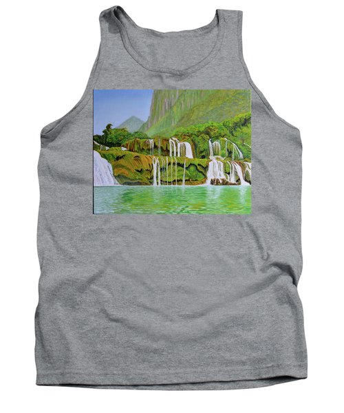 Returned To Paradise Tank Top by Thu Nguyen