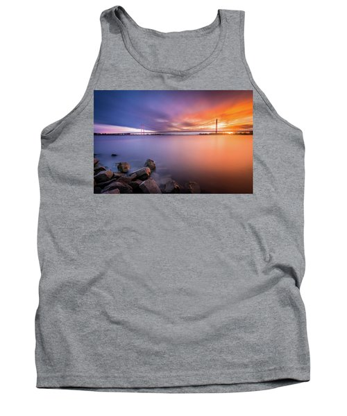 Rhine Bridge Sunset Tank Top