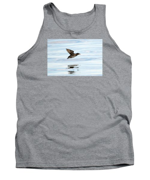 Rhinoceros Auklet Reflection Tank Top by Mike Dawson