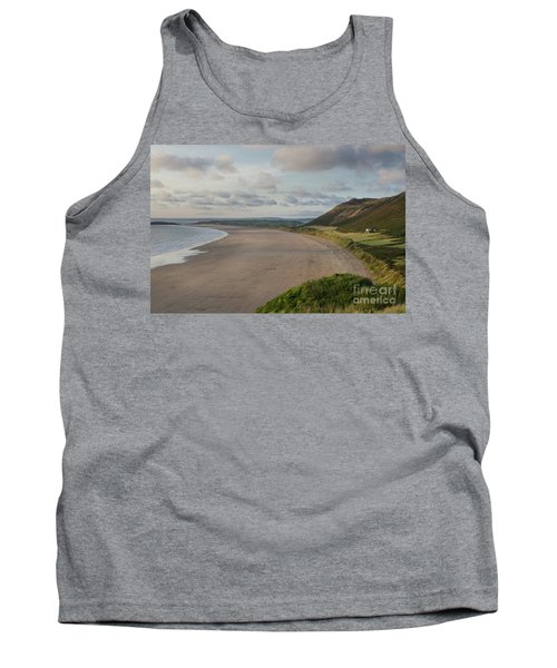 Rhossili Bay, South Wales Tank Top