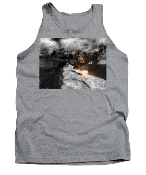 Rainbow In The Mist Tank Top by Sherman Perry