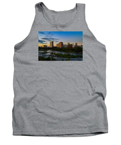 Richmond Skyline At Dusk Tank Top