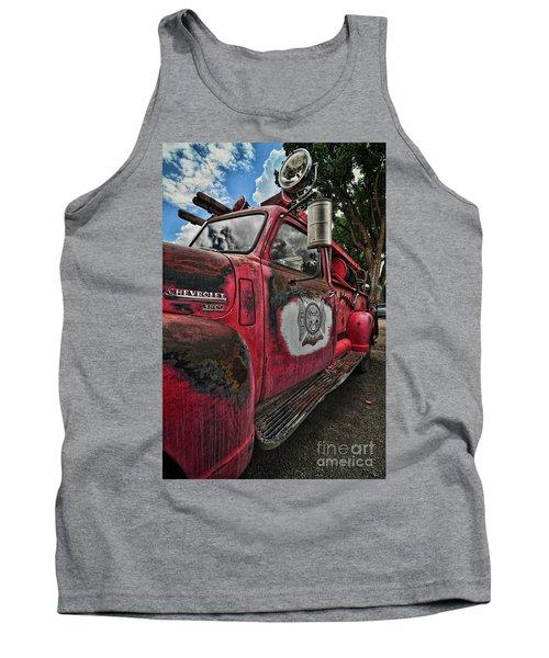 Ridgway Fire Truck Tank Top