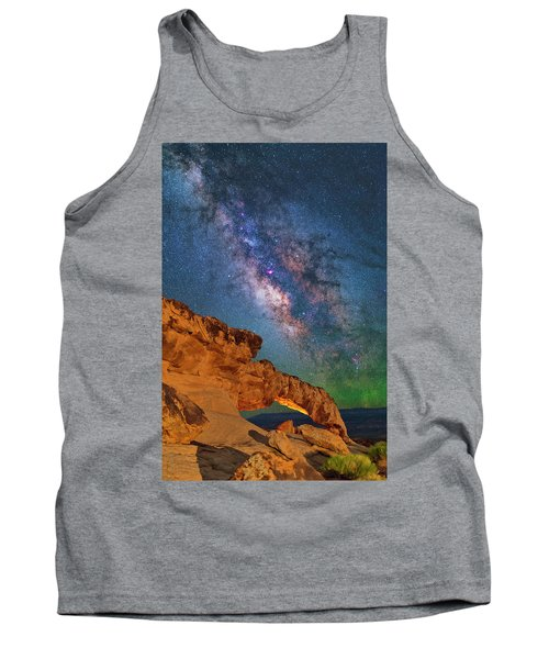 Riding Over The Arch Tank Top