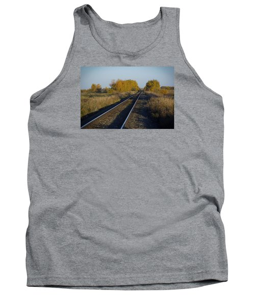 Riding The Rails Tank Top by Ellery Russell