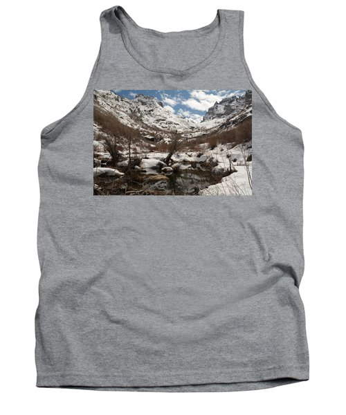 Tank Top featuring the photograph Right Fork Canyon by Jenessa Rahn