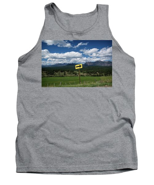 Right This Way Tank Top