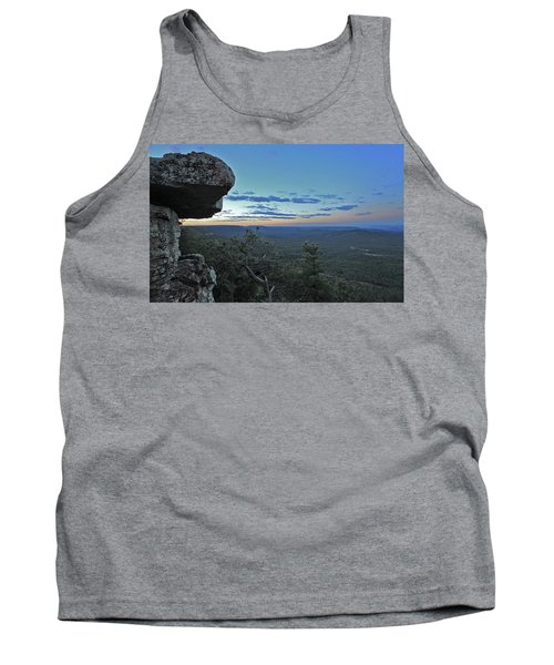 Tank Top featuring the photograph Rim Daybreak by Gary Kaylor