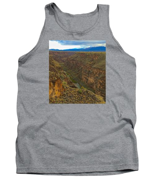 Rio Grande Gorge Just After Dawn Tank Top