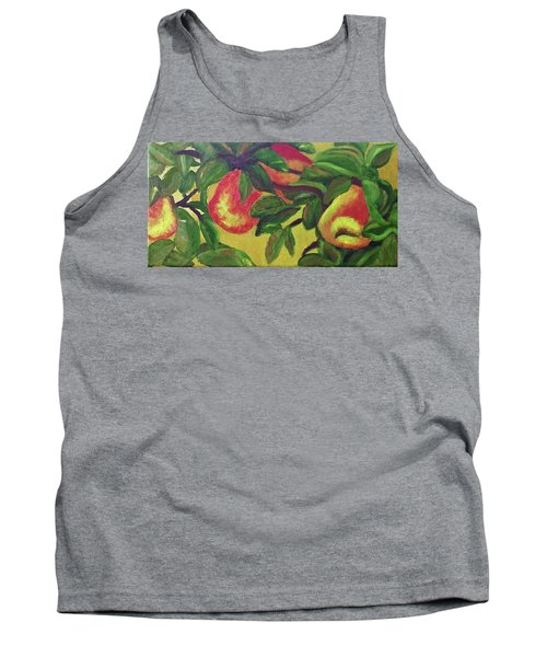 Ripe Pears On The Tree Tank Top