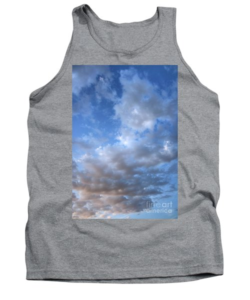 Tank Top featuring the photograph Rising Clouds by Michael Rock