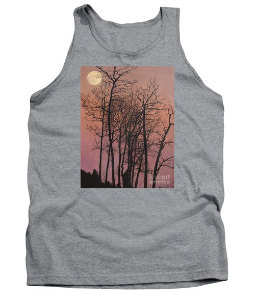 Rising Of The Moon  Tank Top by Barbara Barber