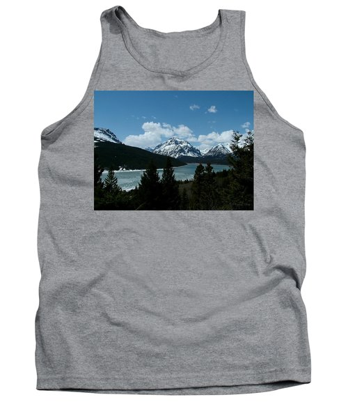 Rising Wolf And Two Medicine Lake Tank Top
