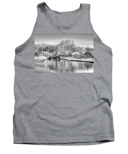 River In The Snow Tank Top