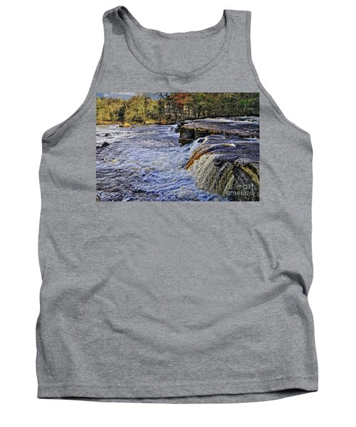 River Swale At Richmond Yorkshire Tank Top
