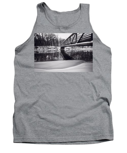 River View B And W Tank Top