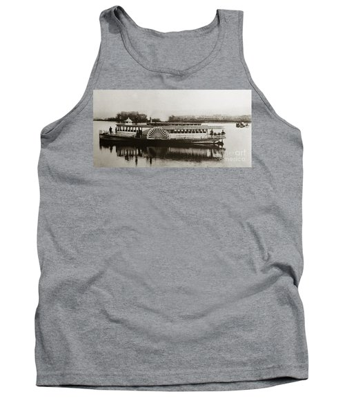 Riverboat  Mayflower Of Plymouth   Susquehanna River Near Wilkes Barre Pennsylvania Late 1800s Tank Top