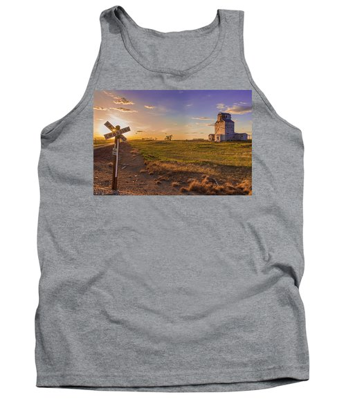 End Of The Day On The Montana Hi Line Tank Top