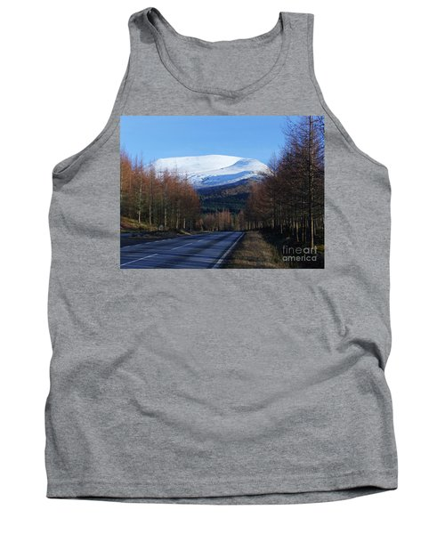 Road To Aonach Mor  Tank Top