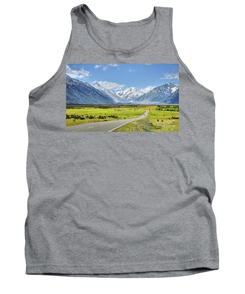 Road To Aoraki Tank Top