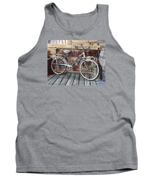 Roadmaster Bicycle Tank Top by Joey Agbayani