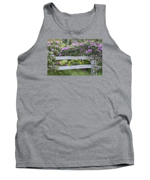Tank Top featuring the photograph Roan Mountain Azaleas by Tyson and Kathy Smith