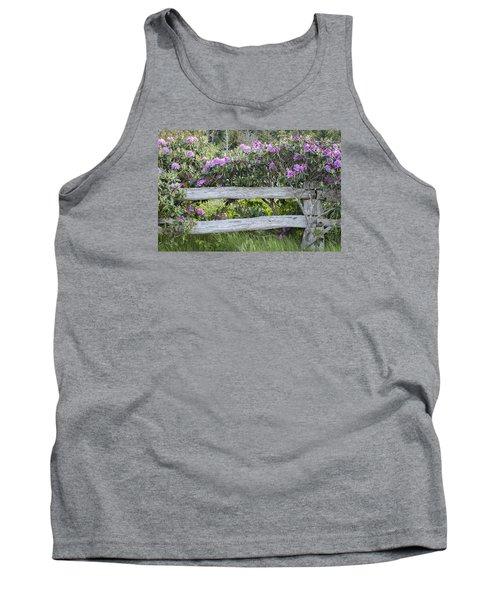 Roan Mountain Azaleas Tank Top