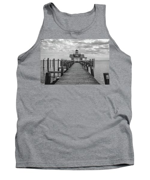 Roanoke Marshes Light Tank Top by David Sutton