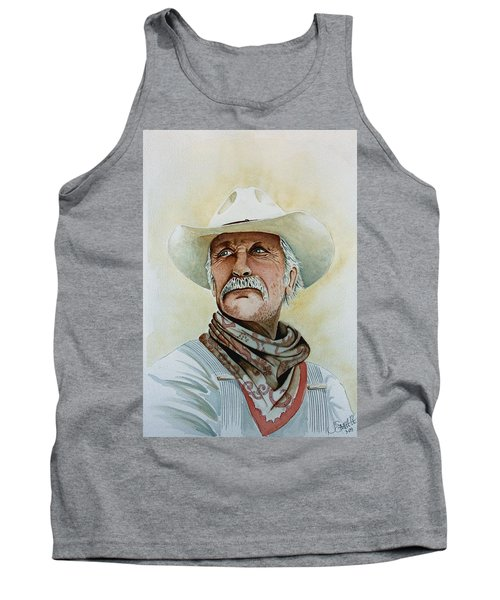 Robert Duvall As Augustus Mccrae In Lonesome Dove Tank Top