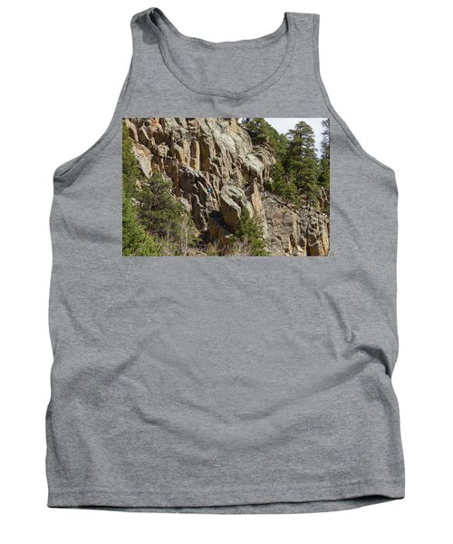 Tank Top featuring the photograph Rock Climbers Paradise by James BO Insogna