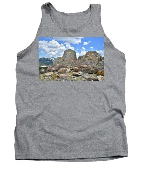 Rock Cropping At Big Horn Pass Tank Top