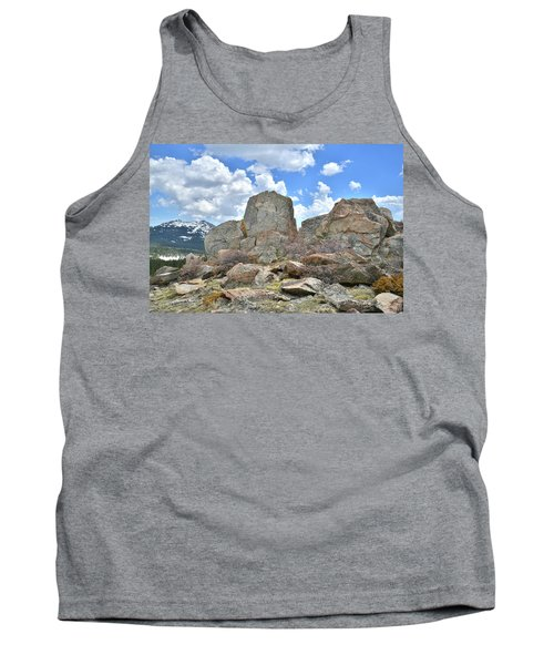 Rock Cropping At Big Horn Pass Tank Top