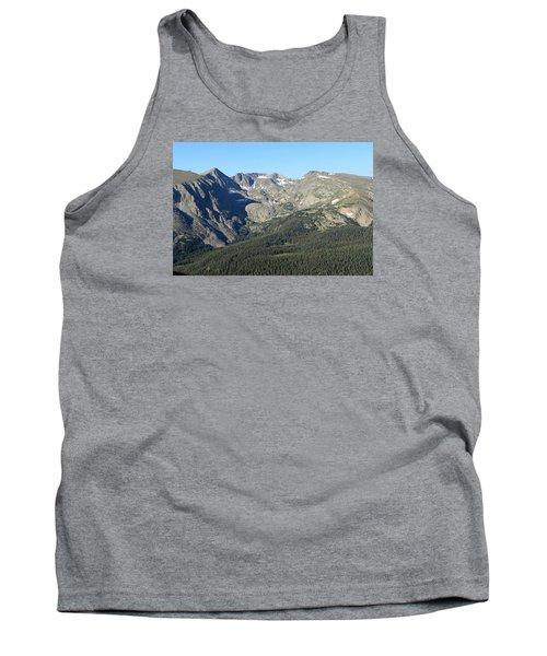 Rock Cut - Rocky Mountain National Park Tank Top by Pamela Critchlow