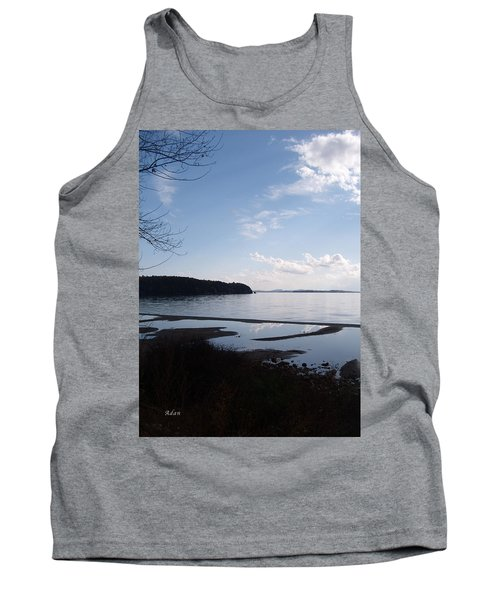 Tank Top featuring the photograph Rock Point North View Vertical by Felipe Adan Lerma