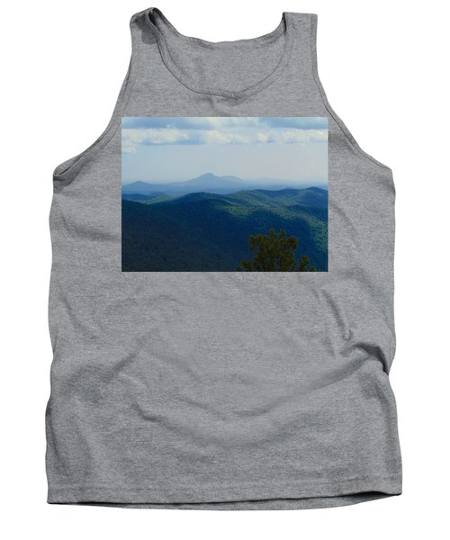 Rocky Mountain Overlook On The At Tank Top