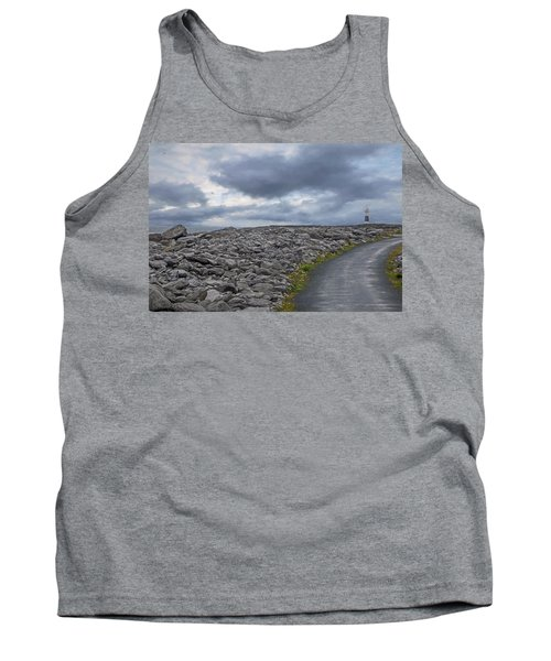 Rocky Road To The Lighthouse Tank Top