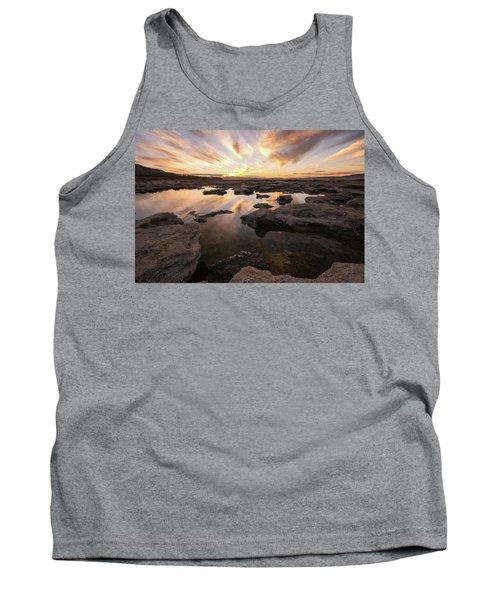 Rocky Shores Of Utah Lake Tank Top