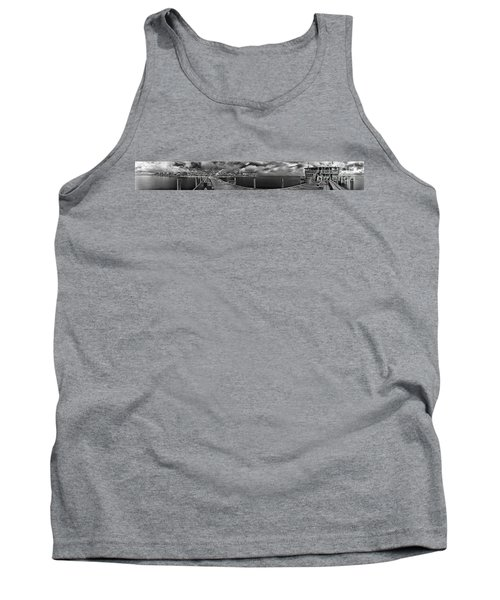Rod And Reel Pier In Infrared Tank Top