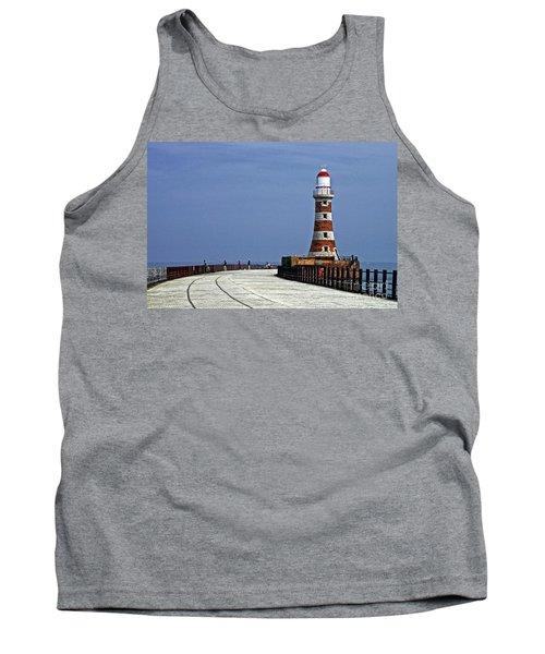 Roker Lighthouse Sunderland Tank Top