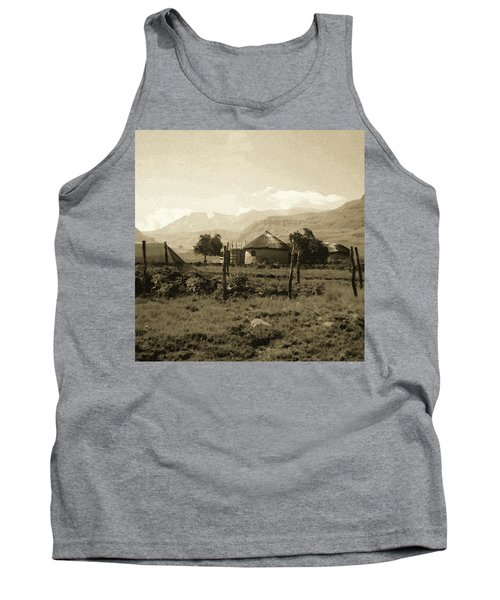 Rondavel In The Drakensburg Tank Top