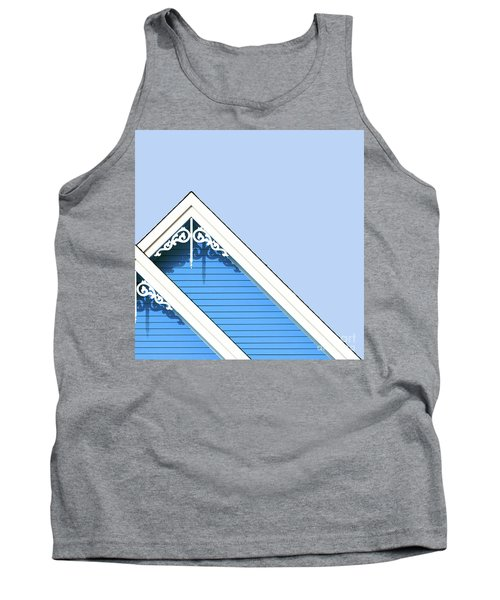 Rooftop Detail With Decorative Fretwork Tank Top